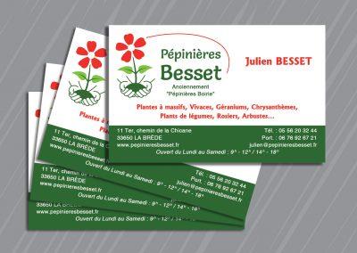 Carte de visite Pépinières