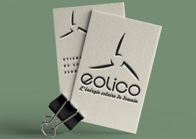 Carte de visite Eolico