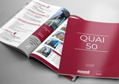 Brochure QUAI 50